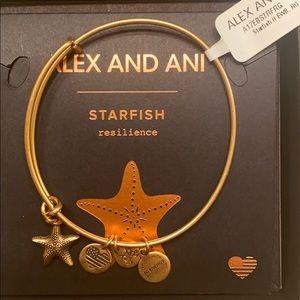 Alex and Ani starfish bracelet